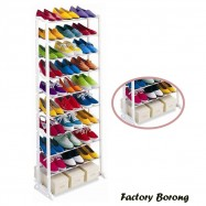 image of Borong Best! Amazing Space Saving 10 Tier Level Shoe Shoes Rack