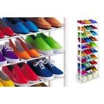 Borong Best! Amazing Space Saving 10 Tier Level Shoe Shoes Rack