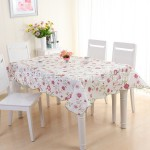 Waterproof Rectangle Shape Dining Table Cloth (137cm x 183cm)