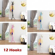 image of Borong Best! 12 Hooks Hanging Pole / Hanging Stand