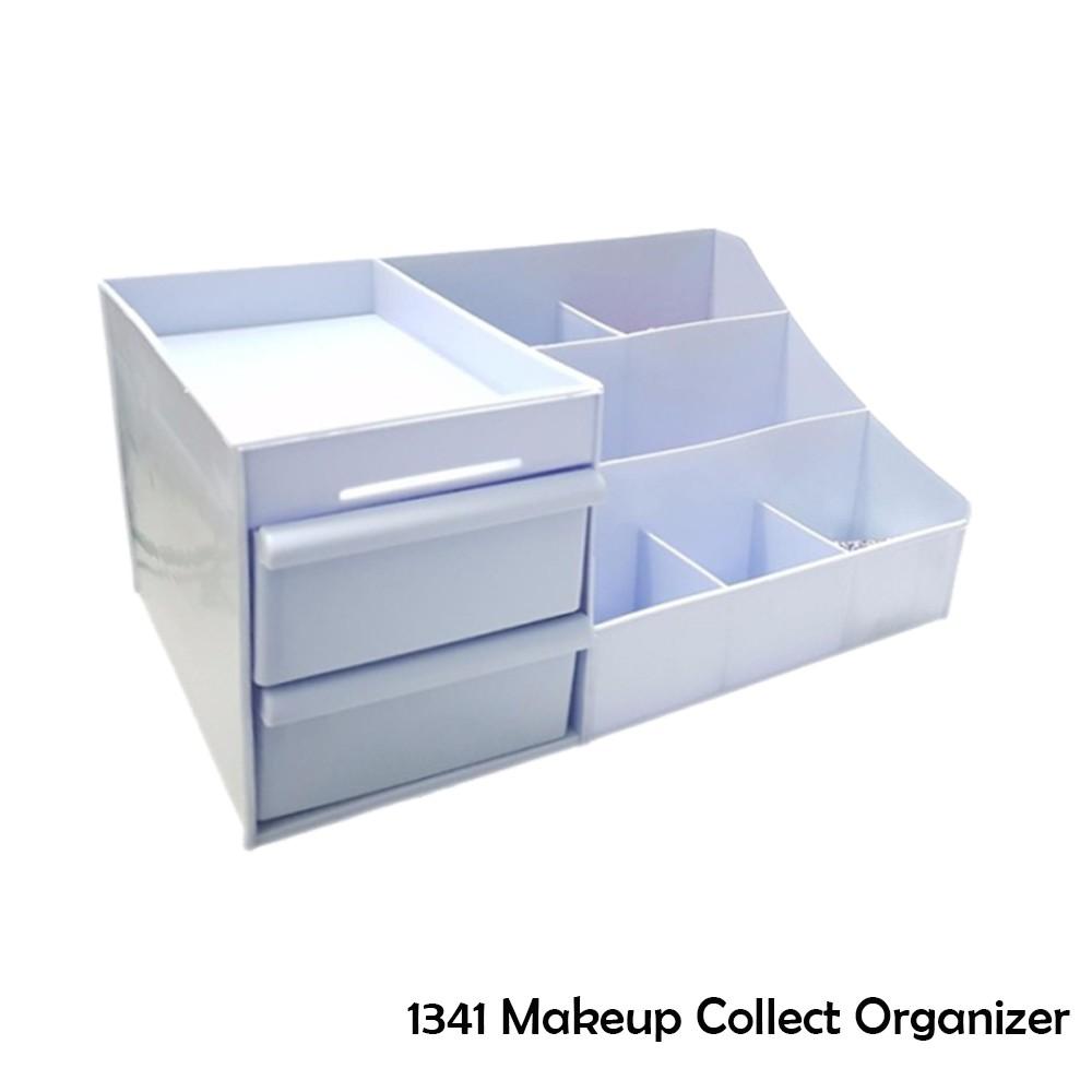 Best Borong! Makeup Collect Organizer - Blue