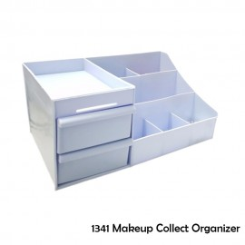 image of Best Borong! Makeup Collect Organizer - Blue