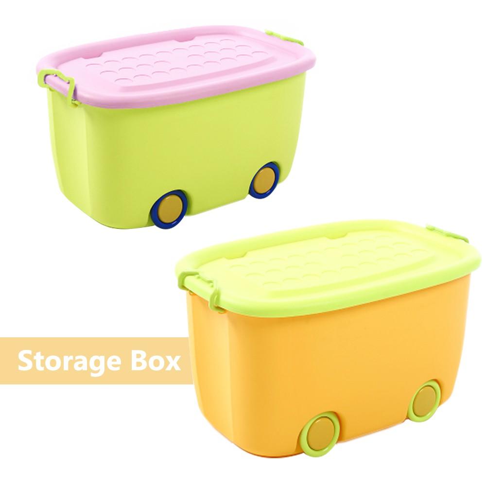 4 Wheel Multipurpose Large Capacity Storage Box