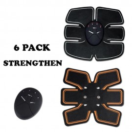 image of 6 Pack EMS Strengthen Wireless Body Gym Workout Toning Belt