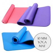 image of Borong Best! High Grade NBR 10mm Yoga Mat Gym Exercise Mat
