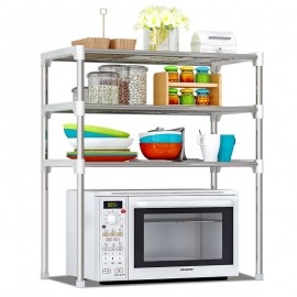 image of Z103 Large Capacity Stainless Steel 3 Tiers Organizer