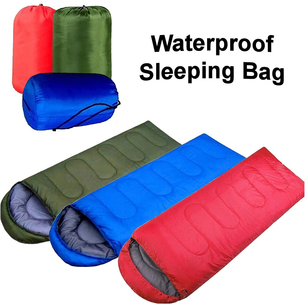 Borong best! Outdoor Portable & Water Resistant Sleeping Bag