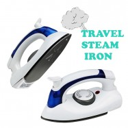 image of HT-258B 3 Gears Steam Mini Iron Handle Rotary 90 Degree 700W