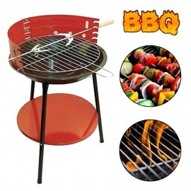image of Borong Best! 36 cm Camping BBQ Stove (Round Shape)