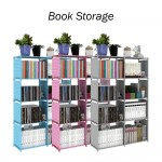 DIY Book Storage 5 Tier with 8 Columns