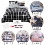 Premium 4 in 1 Flat Bedsheet