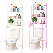 image of Borong Best! Bathroom and Toilet Organizer Rack (3 Tiers)