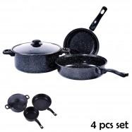 image of Non Stick Cookware 4 pcs set