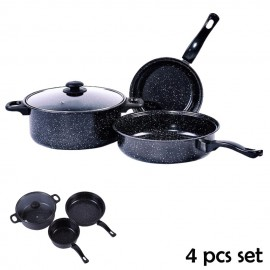 image of Non Stick Cookware 4 pcs set