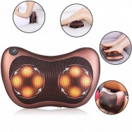 image of Dual Use Full Body Cushion Massager Pillow For Car/Home