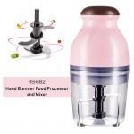 RS-682 Mini Electric Multipurpose Hand Blender Food Processor and Mixer