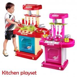 image of Children BIG Portable Kitchen Playset