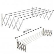 image of TA80 Aluminium Retractable Drying Rack Cloth Hanger