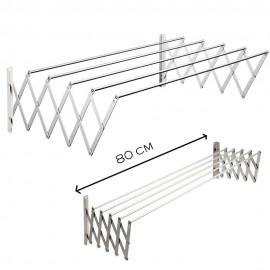 image of TA80 Aluminium Retractable Drying Rack Cloth Hanger
