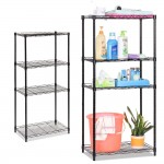 ZT194 4 Tiers Compartment Corner Stand Steel Rack