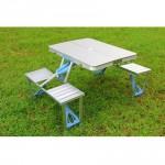 Outdoor Portable Aluminium Camping Picnic Table