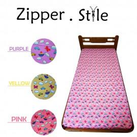image of ZB01 Zippered Bedsheet Fun Design Single Size