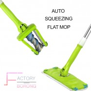 image of Borong Best! Auto Squeezing & Twisting Flat Mop