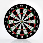 Borong Best! 18 Inch Dart Board Professional & Leisure Flocking Dart Board