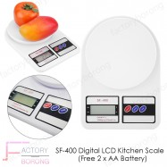 image of Borong Best! SF-400 Digital LCD Kitchen Scale