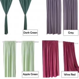 image of CT001 Bedroom Living Room Window Curtain - 1 Panel