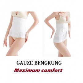 image of READY Stock -Gauze Belt Postpartum Waist Slimming Shaper /Wrapper (Cotton)