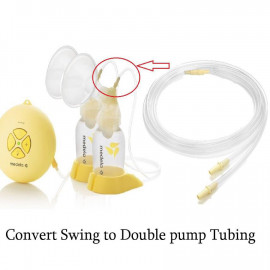 image of Tubing For Medela Swing To Change From Single Pump To Double Pump