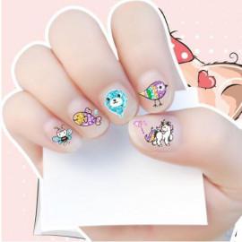 image of Kids Nail Sticker -Little Pony, Frozen, Glow In The Dark,Princess X 3 Pcs