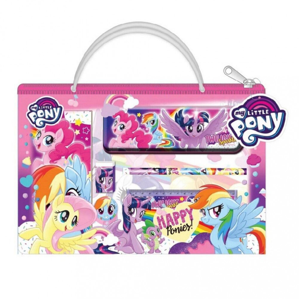 Little Pony 6pcs Stationery Set With Bag