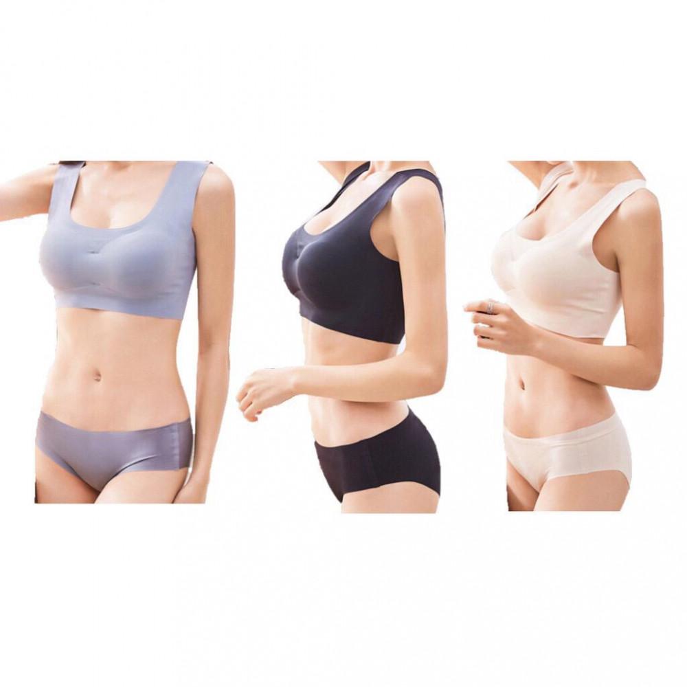 Yoga, Sports, Breastfeeding Seemless, Wireless And Breathable Bra