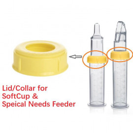 image of Medela Special Needs Feeder / Soft Cup Collars Ring Lid