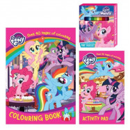 image of LITTLE PONY ACTIVITY &Amp; COLORING BOOK WITH COLOR PENCIL SET