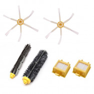 image of Replacement Kits For IRobot Roomba 600, 700 Series (Hepa, Debris, Brush)