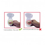 (Ready stock) Silicone manual breast pump (milk collector)
