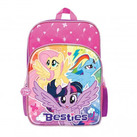image of Little Pony Backpack School Bag 12 Inches (pink color)