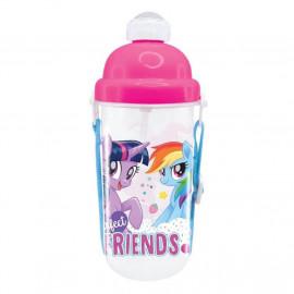 image of My Little Pony 350ML BPA Free Polypropylene Water Bottle
