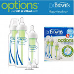 Dr. Brown's Options Standard Neck Baby Bottle starter kit x 3 pcs