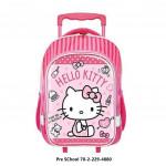 Sanrio Hello Kitty Trolley Bag Kindergarten Primary School