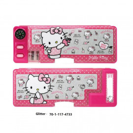 image of Sanrio Hello Kitty Magnetic Pencil Case
