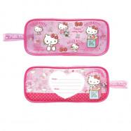 image of Sanrio Hello Kitty 5pcs Transparent Square Pencil Bag Set