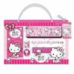 Sanrio Hello Kitty 6pcs Stationery Set With Bag