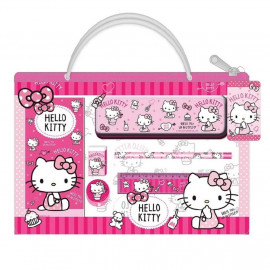 image of Sanrio Hello Kitty 6pcs Stationery Set With Bag