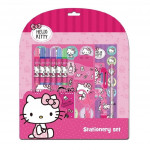Sanrio Hello Kitty 13pcs Stationery Set With 6 Colour Markers
