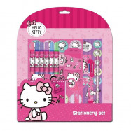 image of Sanrio Hello Kitty 13pcs Stationery Set With 6 Colour Markers