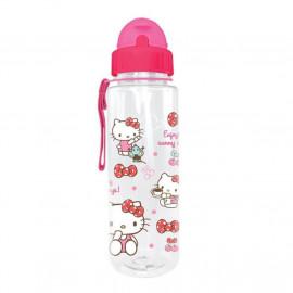image of Sanrio Hello Kitty 650ML BPA Free Tritan Bottle With Straw
